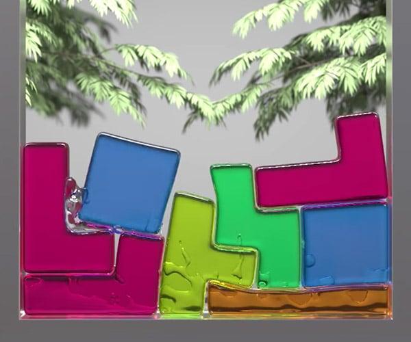 Softbody Tetris