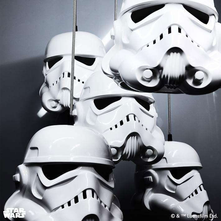 Star Wars Stormtrooper Pendant Light