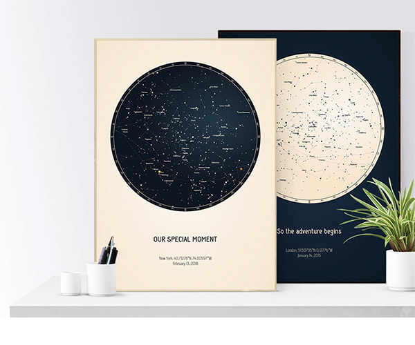 Deal: Personalized Star Map
