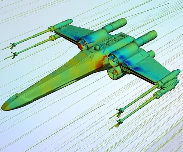 The Aerodynamics of Star Wars