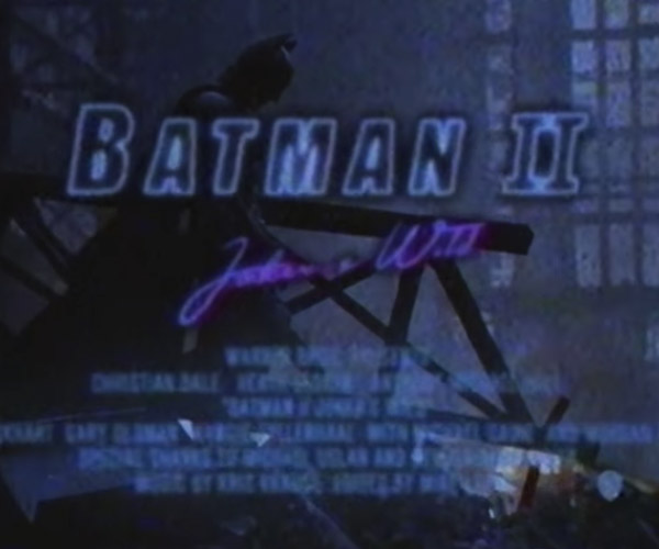 The Dark Knight: 1985 Trailer