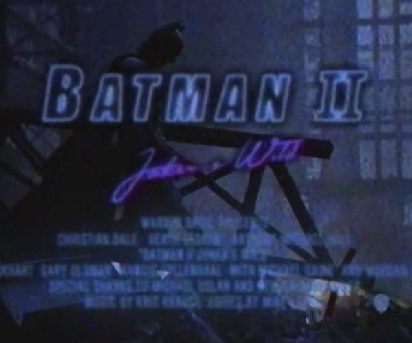 The Dark Knight: 1985 Trailer