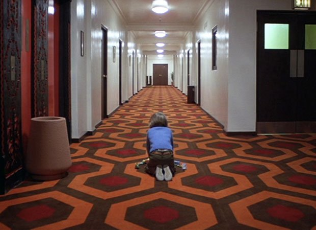 The Shining Overlook Hotel Rug