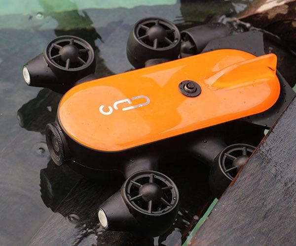 Titan Underwater Drone