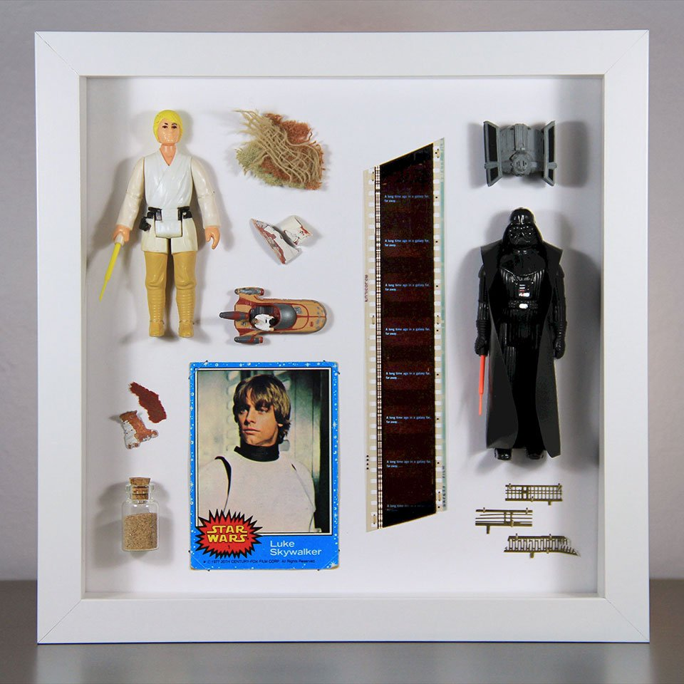 Vintage Star Wars Displays