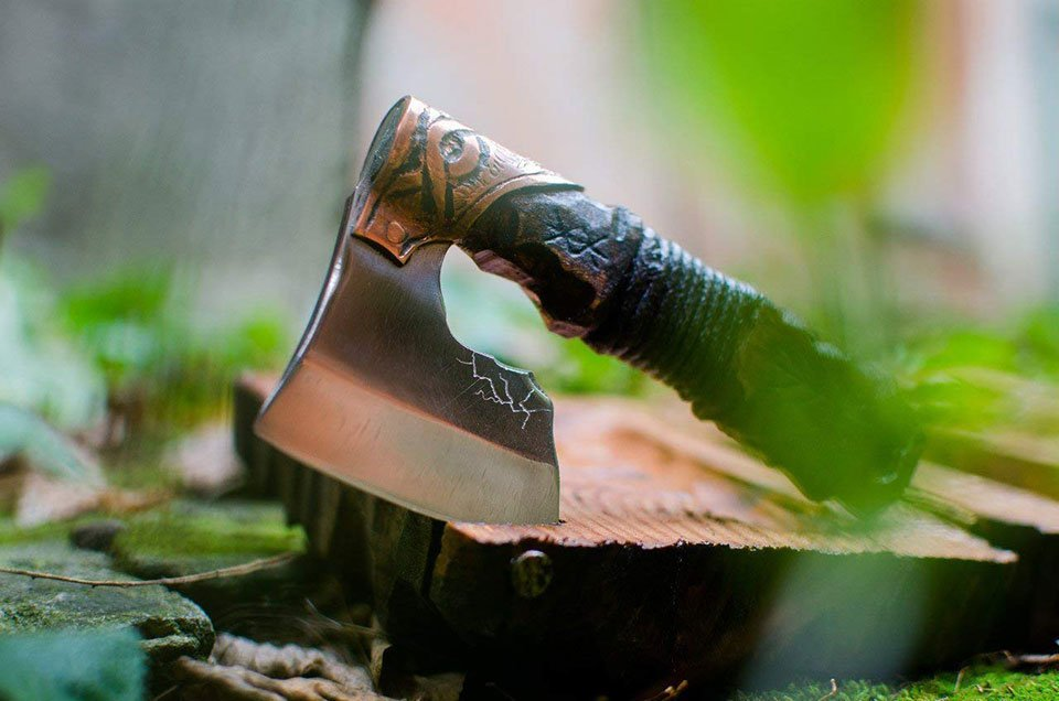 Warrior Axe Straight Razor