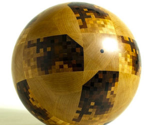 Wooden World Cup Ball