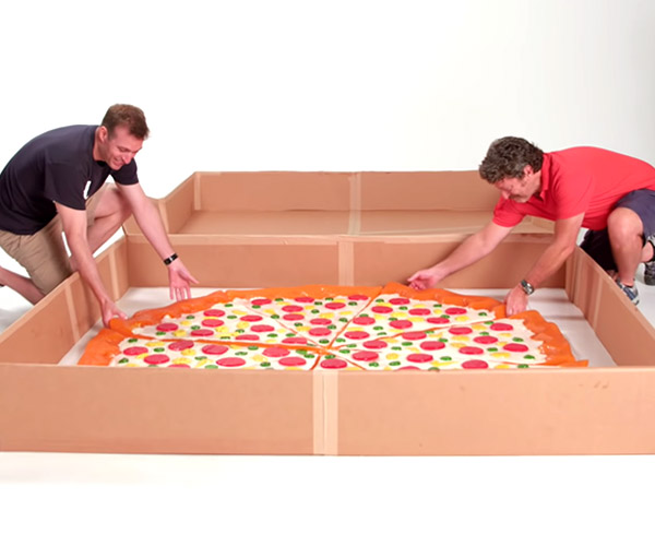 Making a Giant Gummy Pizza