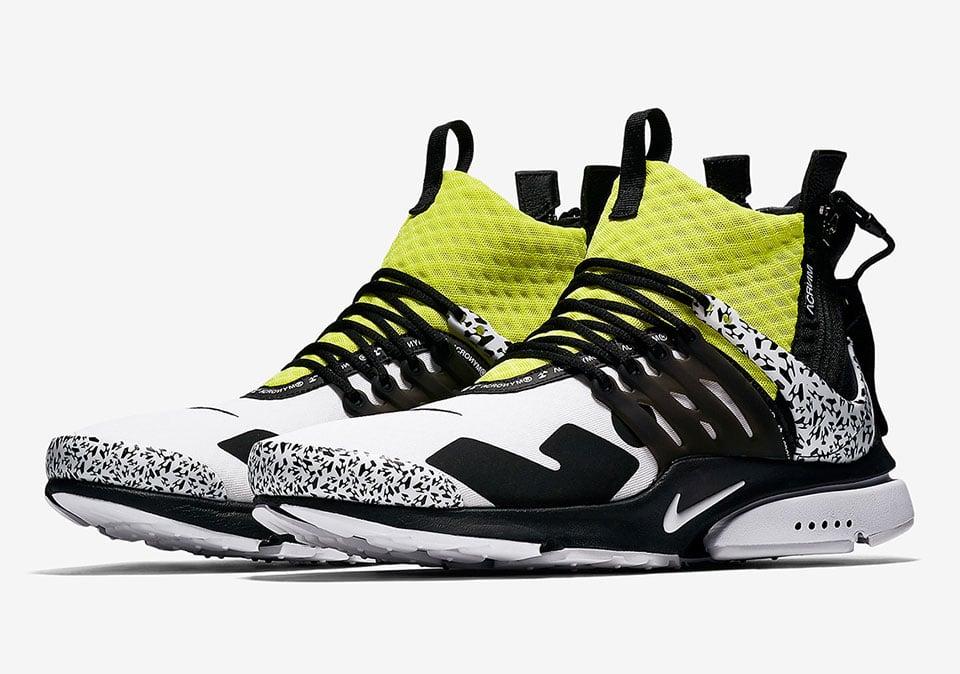 2018 Nike x Acronym Presto Mid