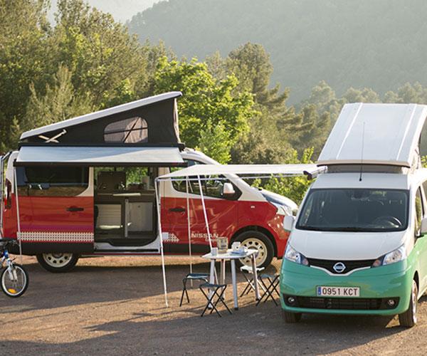 2018 Nissan Camper Vans