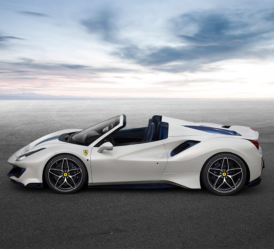 Ferrari F8 Tributo Imagined As A Spider: The Ferrari 488 Pista Spider Drops The Top With 710 Horses