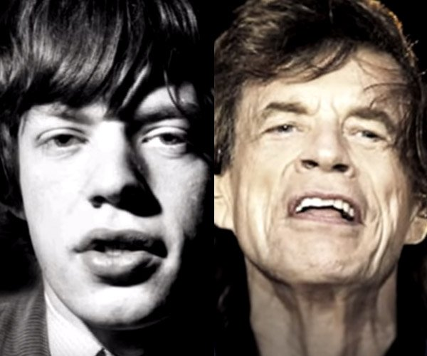 The Rolling Stones Aging
