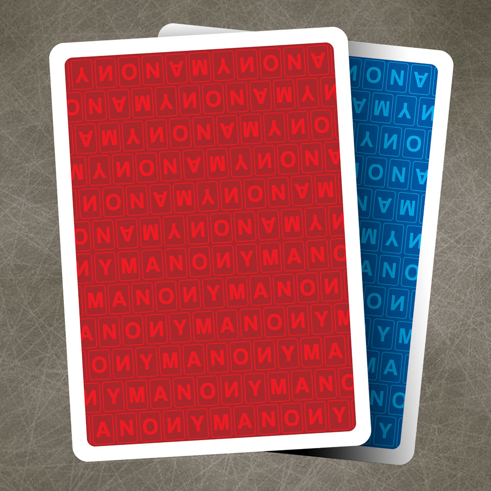 Anonym Playing Cards