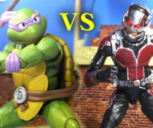 Ant-Man vs. Ninja Turtle
