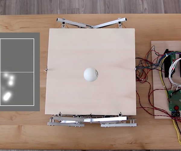Ball-bouncing Robot