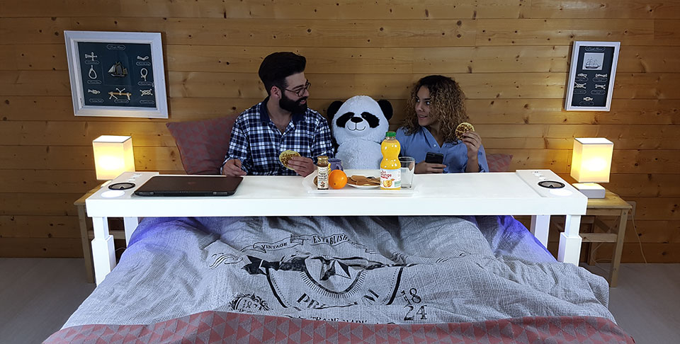 Bedchill Overbed Table