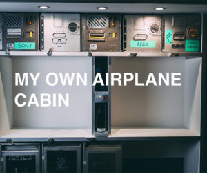 Building a Fake Airplane Galley