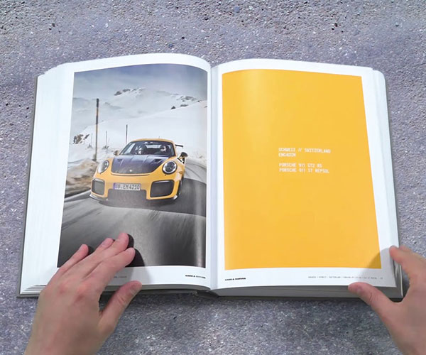 Cars & Curves Porsche Book
