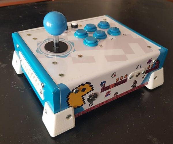 DIY All-in-one Arcade Machine