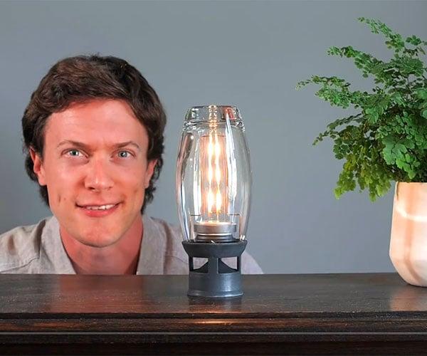 DIY Glass Speaker & Edison Light