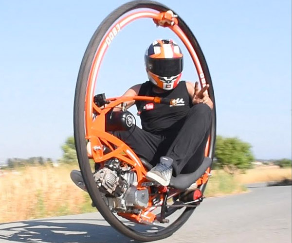 DIY Monowheel Cycle