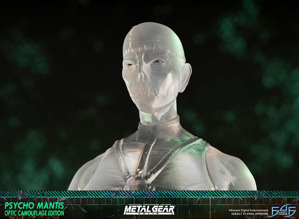 First 4 Figures Psycho Mantis Statue