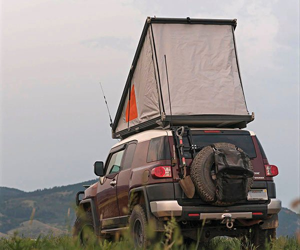 GoFastCampers Platform Roof Top Tent