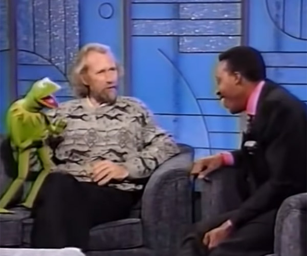 Henson, Kermit, Rowlf, and Arsenio