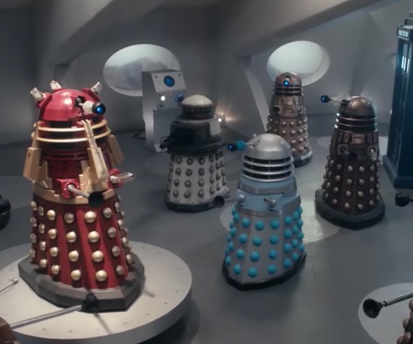 If Every Robot Was a Dalek