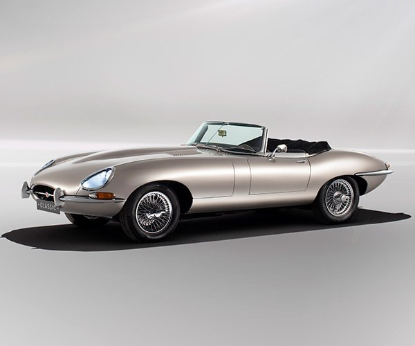Jaguar E-Type Electric