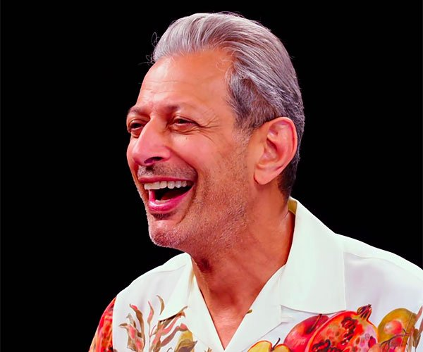 Jeff Goldblum vs. Hot Wings
