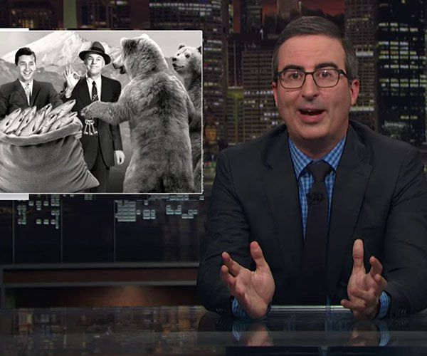 John Oliver's Retractions
