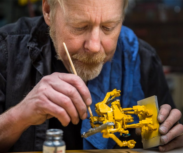 Adam Savage Kit-bashes a Robot