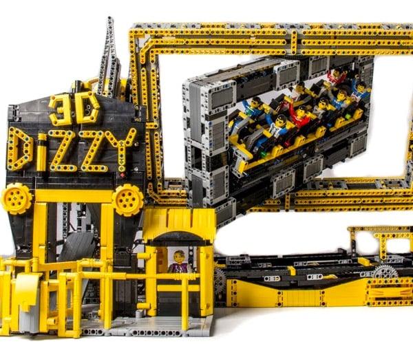LEGO 3D Dizzy Theme Park Ride