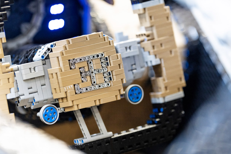 Full-size LEGO Bugatti Chiron