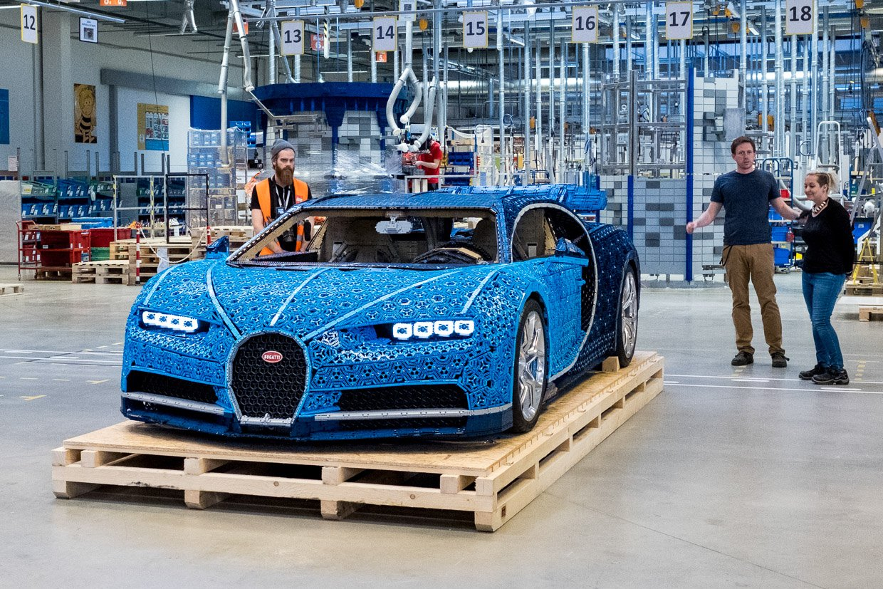 Luxury Tech Gifts Lego Built A Full Size Bugatti Chiron And It Actually