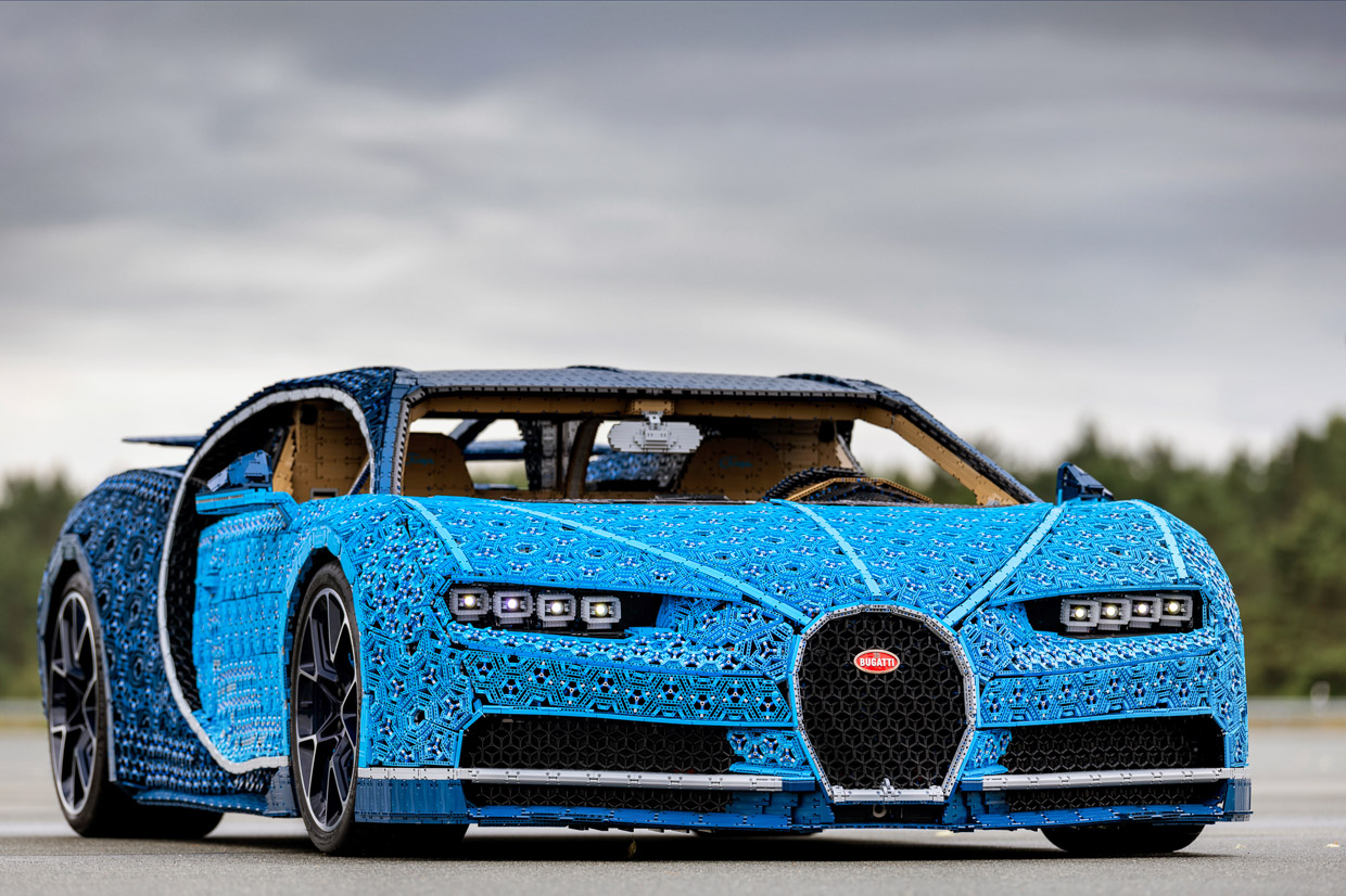 Lego Built A Full Size Bugatti Chiron And It Actually