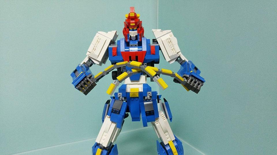 LEGO Voltes V Concept