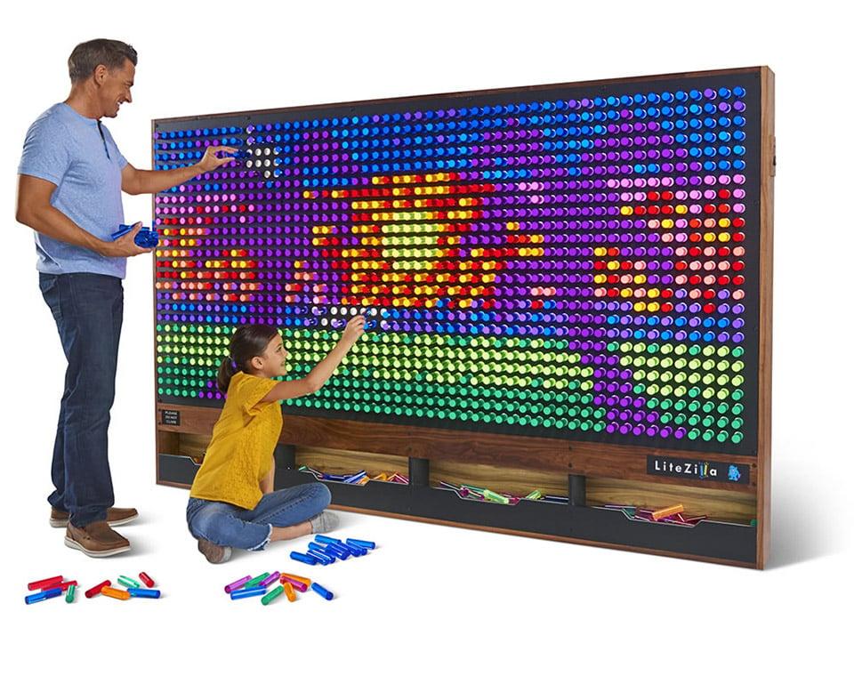 LiteZilla Light Peg Board
