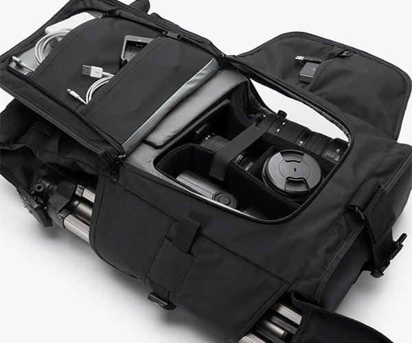 Integer Camera + Laptop Backpack