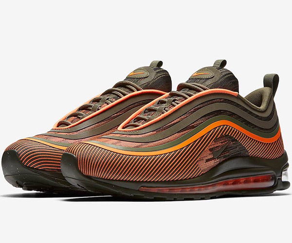Nike Air Max 97 Ultra '17 Olive/Orange
