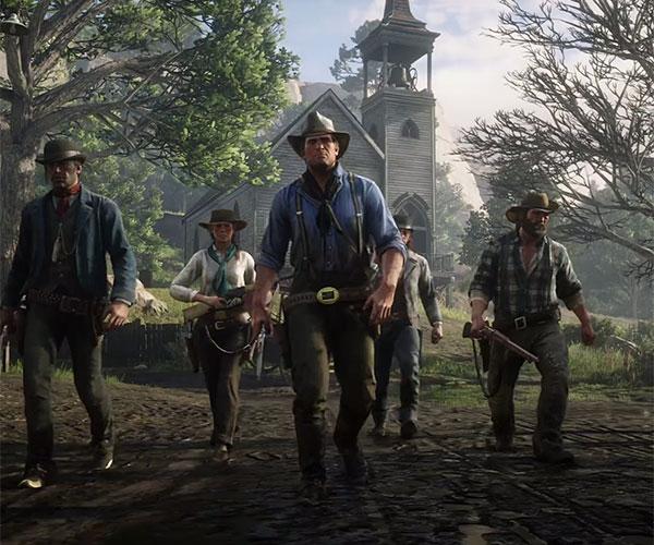 Red Dead Redemption 2 (Gameplay)