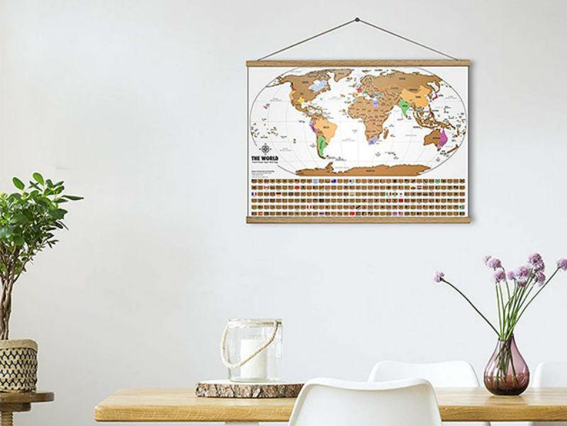 Travel Scratch-Off Maps