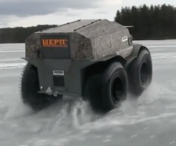Driving on Broken Ice