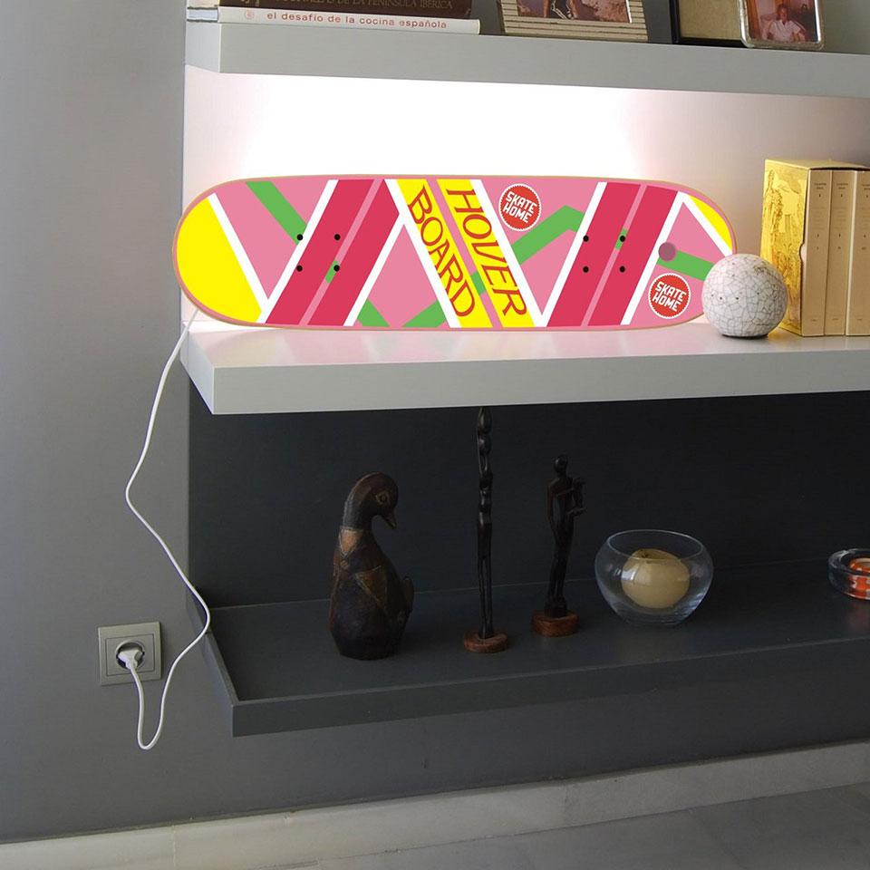 Skateboard Hover Board Lamp