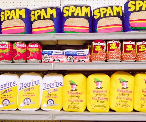 Sparrow Mart Felt Supermarket