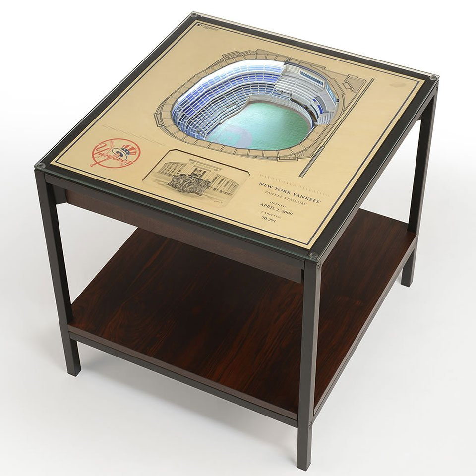 Stadium Replica End Table