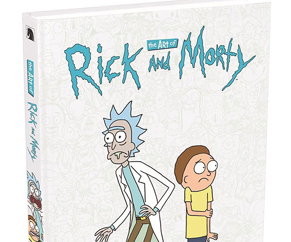 The Art of Rick & Morty Book
