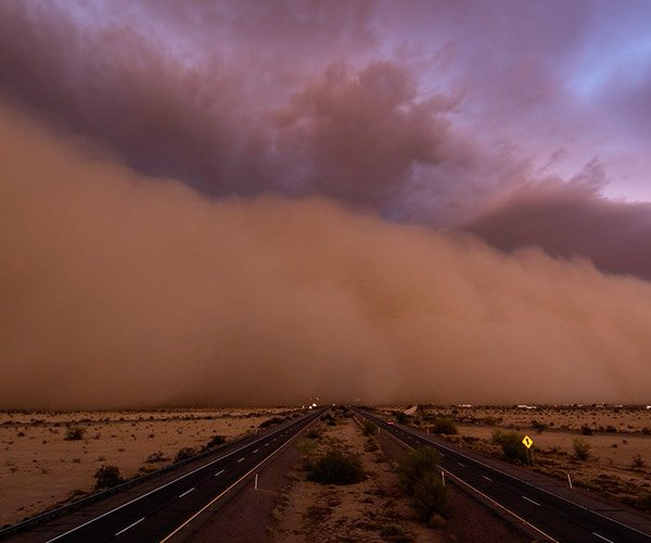 The Great Haboob Chase