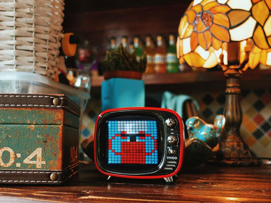 Deal: TIVOO Pixel Art Speaker